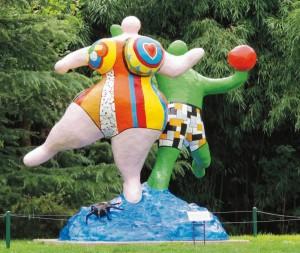 atelier d'art créatif pour enfants atelier Niki de St Phalle